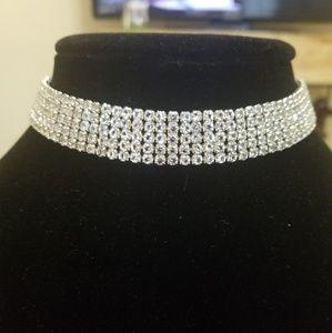 Fashion Jewelry Jewelry - DIAMONDS GIRLS BF CHOCKER